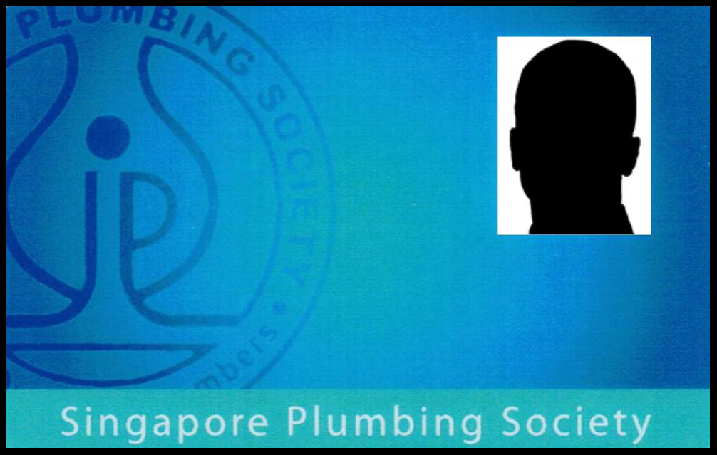 Picture of Have not obtain plumber licence and registered with Singapore Plumbing Society.